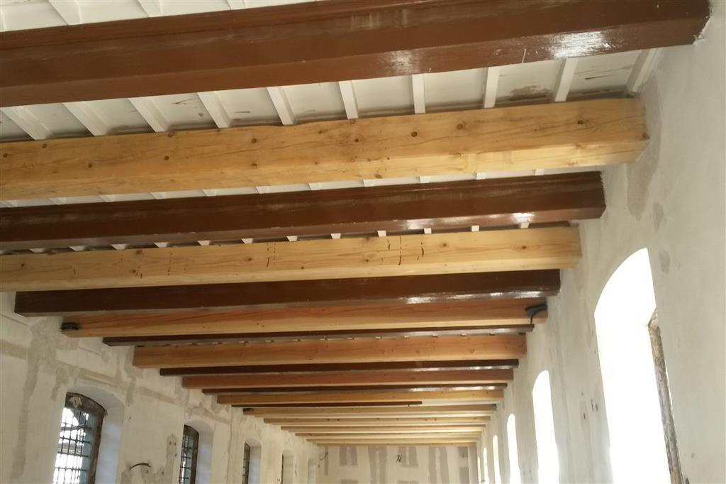 Protección vigas hierro, madera y forjados