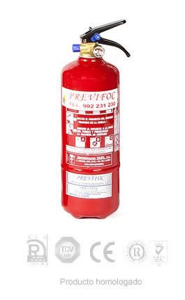 Extintores de Polvo 2KG ABC